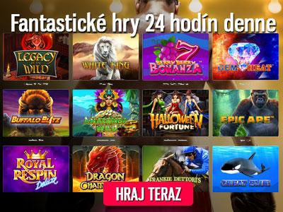 fantastické hry v kasíne